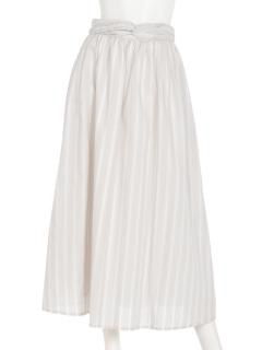 ラダーストライプスカート