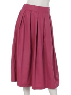 カラータックフレアースカート