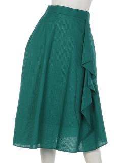 リップルストライプスカート