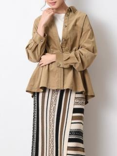 ストレチコールテンCプルイオーバーシャツジャケット