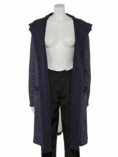 ニットリブ付トッパージャケット