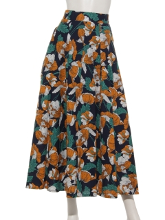 ボヘミアンタックフレアースカート