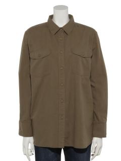 コットンワークシャツ