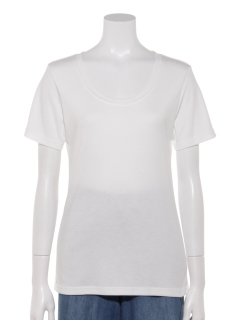 ESSENTIAL UネックTシャツ
