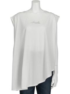 シルケットロゴアシメTシャツ