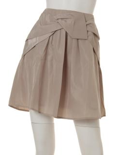 メモリータフタリボンスカート