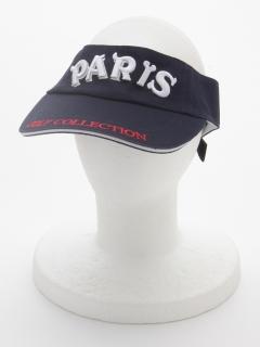 PARIS立体刺繍サンバイザー