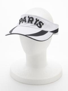 PARISライン入りサンバイザー
