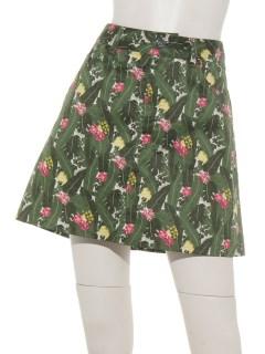 アロハプリントスカート