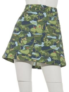 ゴルフコースプリントスカート