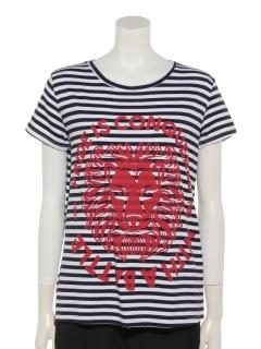 LIONボーダーTシャツ