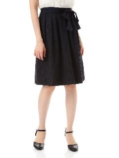 [新井恵理那さん着用]コットンラメフラワーJQスカート