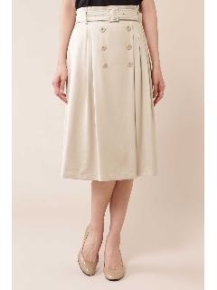 ◆[WEB限定商品]ディアーナサテンスカート