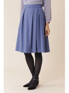 ◆トラッカーツイルタックフレアカラースカート