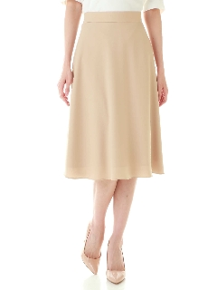 ◆ヌーディバックサテンスカート