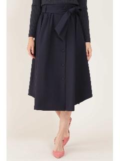 ◆[ウォッシャブル]フロントボタンスカート