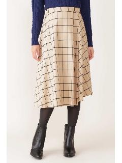[ドラマ着用]◆ウィンドペンアシンメトリースカート