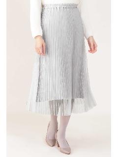 [ドラマ 桜井ユキさん着用]プリーツリバースカート