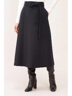 二重織ミルドAラインスカート
