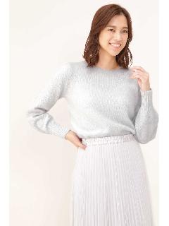 ◆袖デザインラメニット