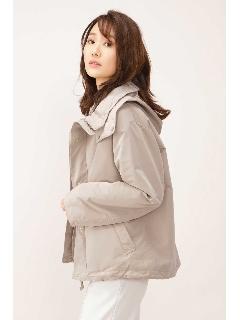 中綿キルト付フードジャケット