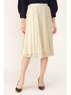 裾フェイドアウトプリーツスカート