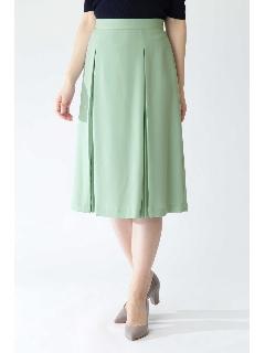 ◆ソフトジョーゼットプリーツスカート