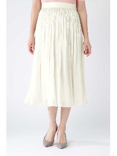 [ウォッシャブル]キラキラギャザースカート