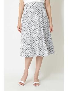 ◆ジオメトリックプリントスカート