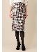 《B ability》ウールグレンチェックタイトスカート