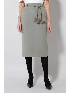 《B ability》ウールビーバーセットアップスカート