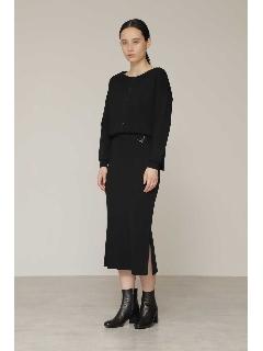 ◆ヴィスコースナイロンニットスカート