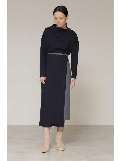 ◆ミルドスムースセットアップスカート