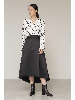 ◆サテンフィッシュテールスカート