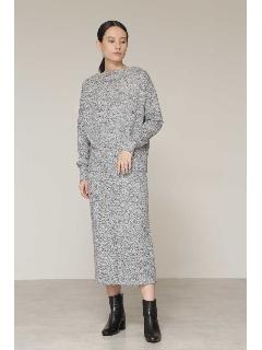 ◆ミックスカラーニットセットアップスカート