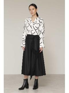◆フリンジカスケードフレアスカート