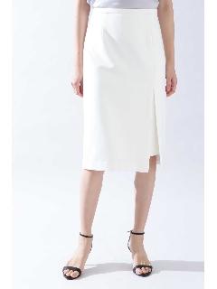 ◆[ウォッシャブル]《B ability》2WAYオックスセットアップスカート