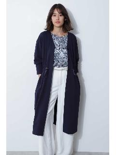 ◆綿混麻調ジャージージャケット
