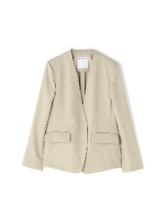 ◆麻調セットアップジャケット