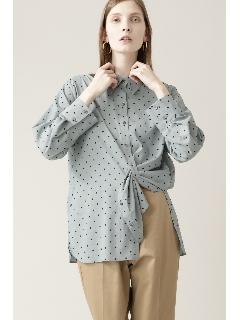 ◆ドットプリントシャツ