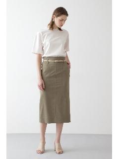 ◆CU/PLメランジセットアップスカート