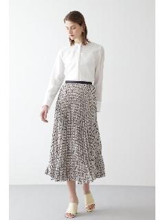 ◆幾何プリントスカート