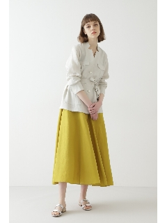◆ソフトリネンセットアップスカート