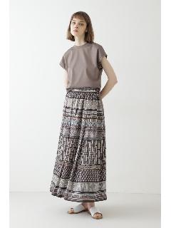 ◆アフリカンプリント スカート