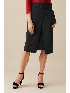 タスランツイルラップ風スカート