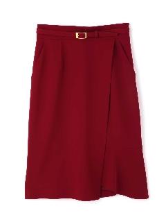 ◆マーメイド&ラップアシンメトリースカート