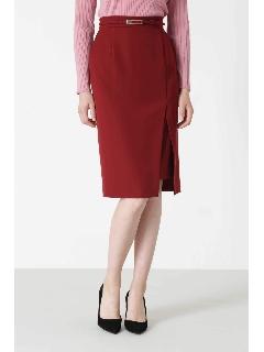 ◆ダブルクロスレイヤードスリットスカート
