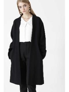 ◆リバージャージそでファー付きコート