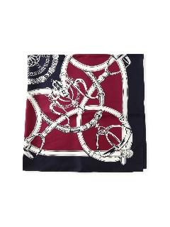 シルクプリントスカーフ