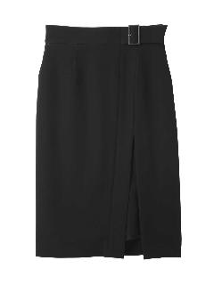 ◆サイドラップレイヤードスカート